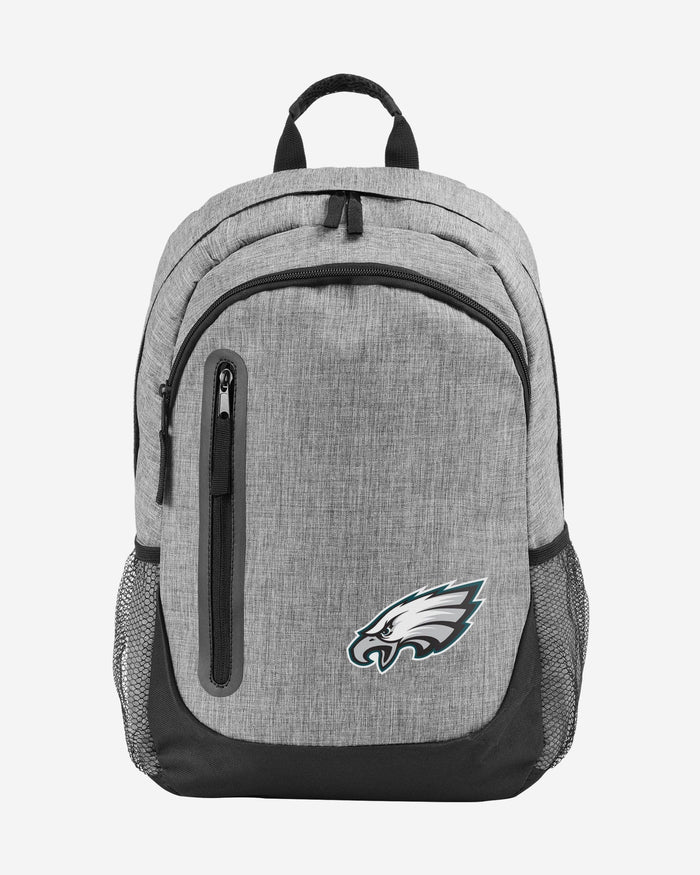 Philadelphia Eagles Heather Grey Bold Color Backpack FOCO - FOCO.com