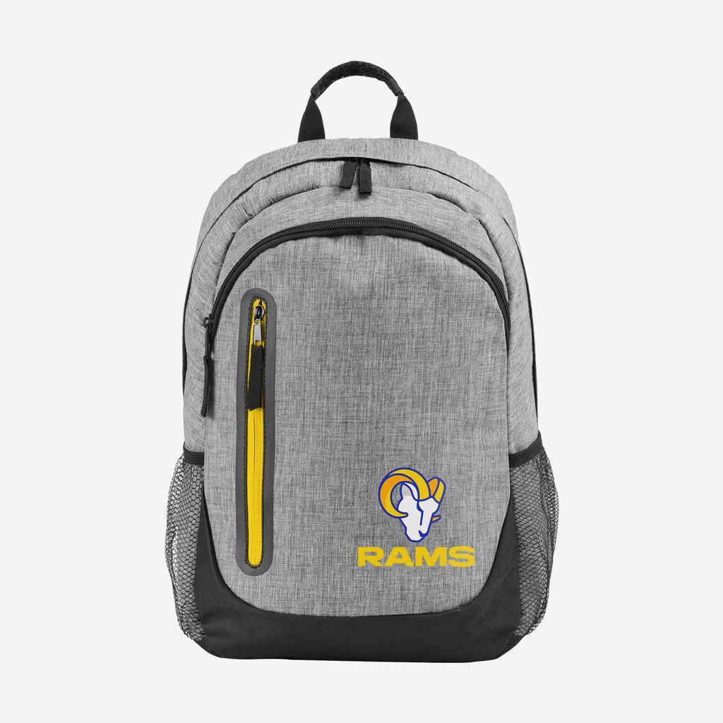 Los Angeles Rams Heather Grey Bold Color Backpack