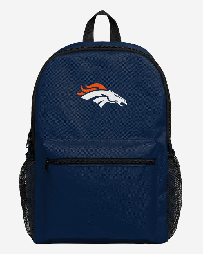 Denver Broncos Legendary Logo Backpack FOCO - FOCO.com