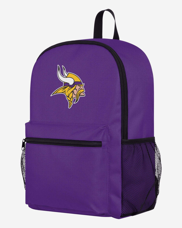 Minnesota Vikings Legendary Logo Backpack FOCO - FOCO.com