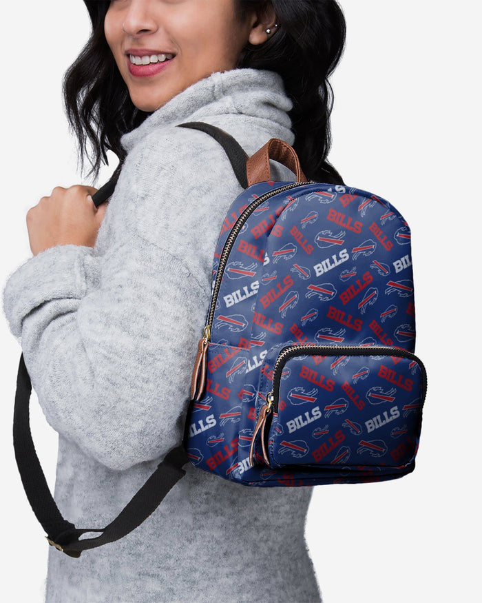 Buffalo Bills Printed Collection Mini Backpack FOCO - FOCO.com