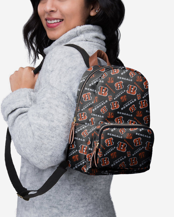 Cincinnati Bengals Printed Collection Mini Backpack FOCO - FOCO.com