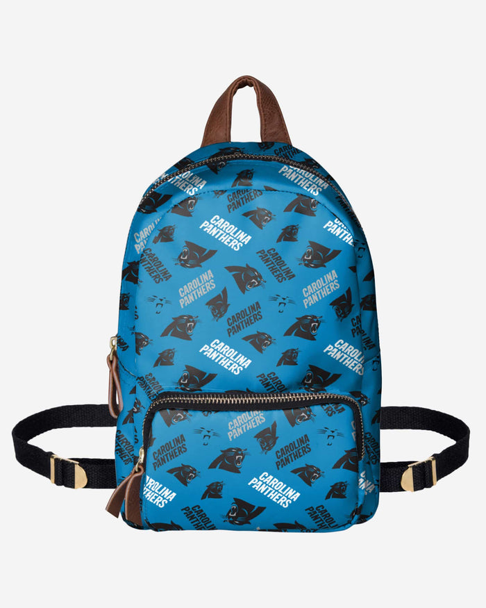 Carolina Panthers Printed Collection Mini Backpack FOCO - FOCO.com