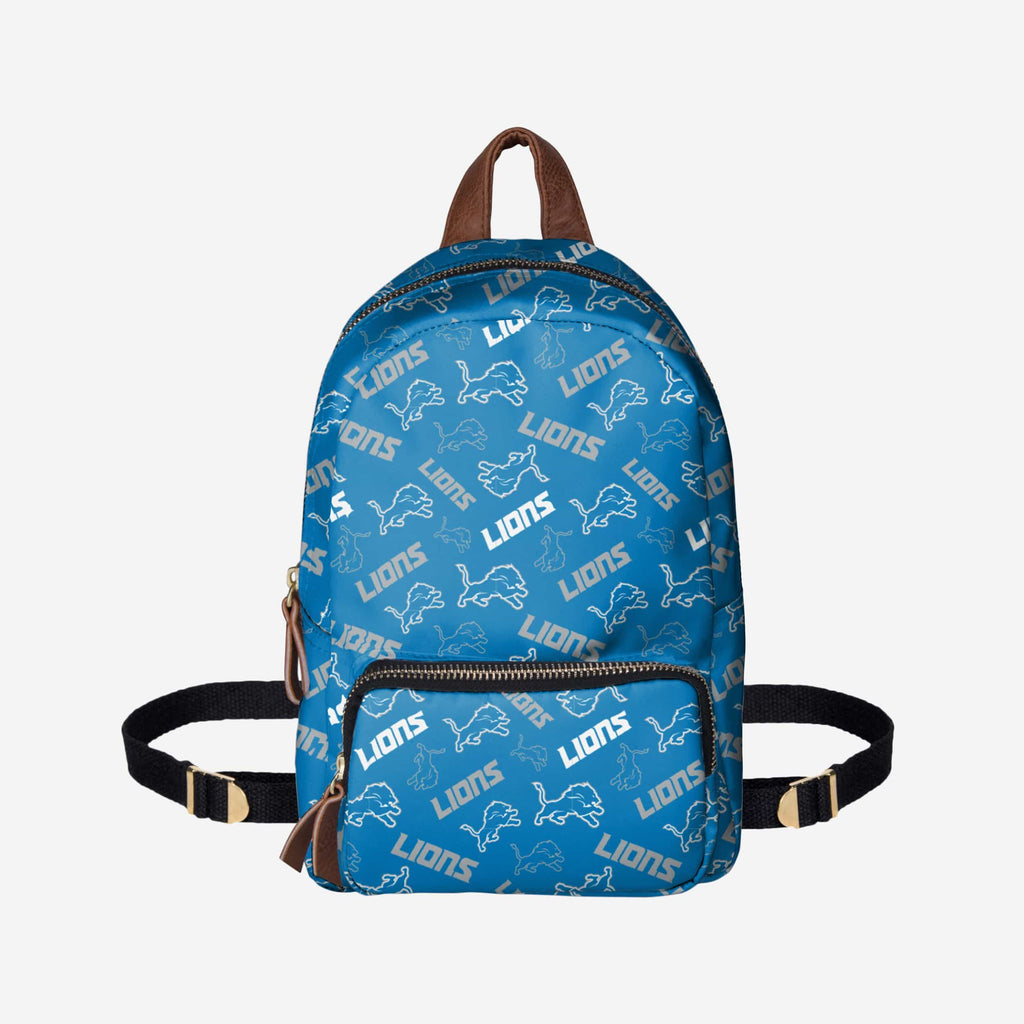 Detroit Lions Printed Collection Mini Backpack FOCO - FOCO.com