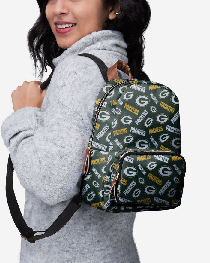 Green Bay Packers Printed Collection Mini Backpack FOCO - FOCO.com