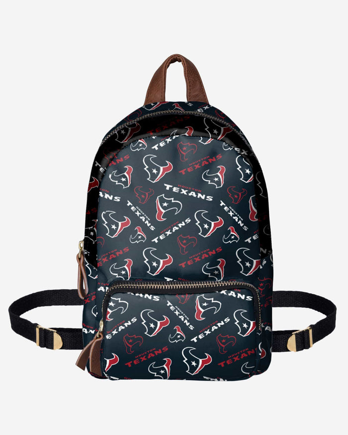 Houston Texans Printed Collection Mini Backpack FOCO - FOCO.com