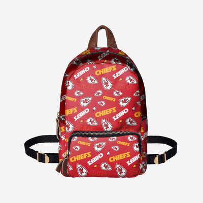 c7a10abad Kansas City Chiefs Printed Collection Mini Backpack