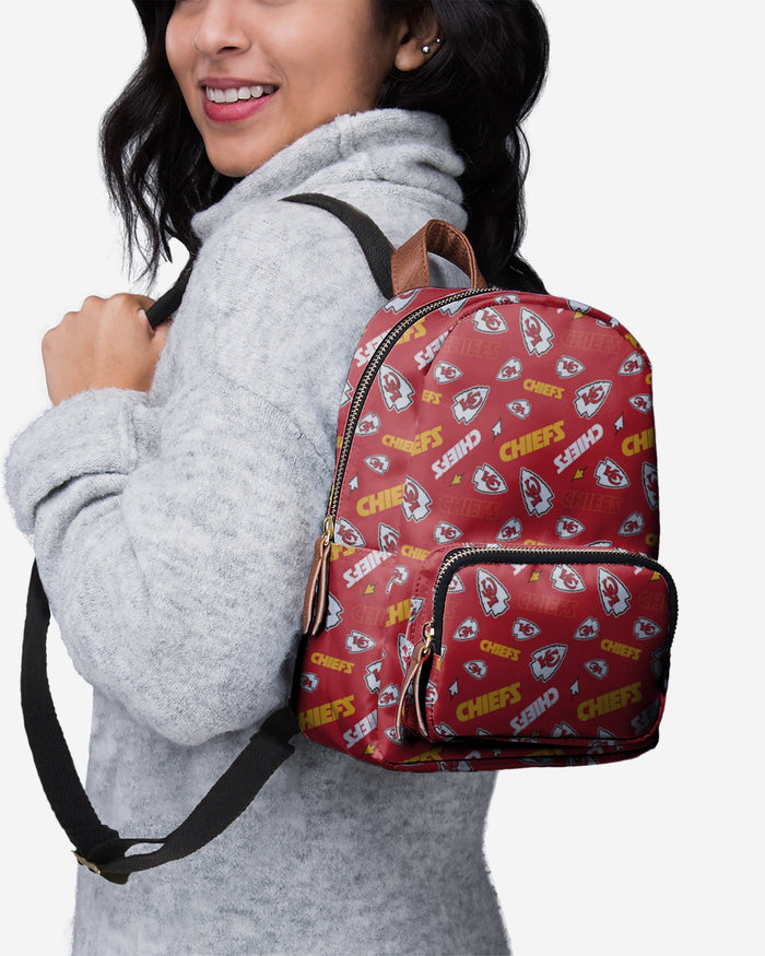 Kansas City Chiefs Printed Collection Mini Backpack FOCO - FOCO.com