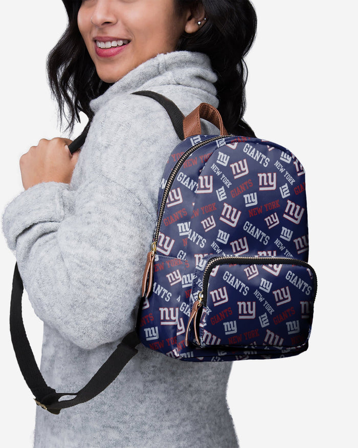 New York Giants Printed Collection Mini Backpack FOCO - FOCO.com