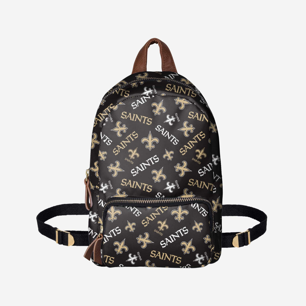 New Orleans Saints Printed Collection Mini Backpack