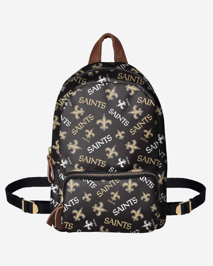New Orleans Saints Printed Collection Mini Backpack FOCO - FOCO.com