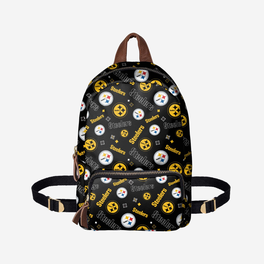 Pittsburgh Steelers Printed Collection Mini Backpack FOCO - FOCO.com