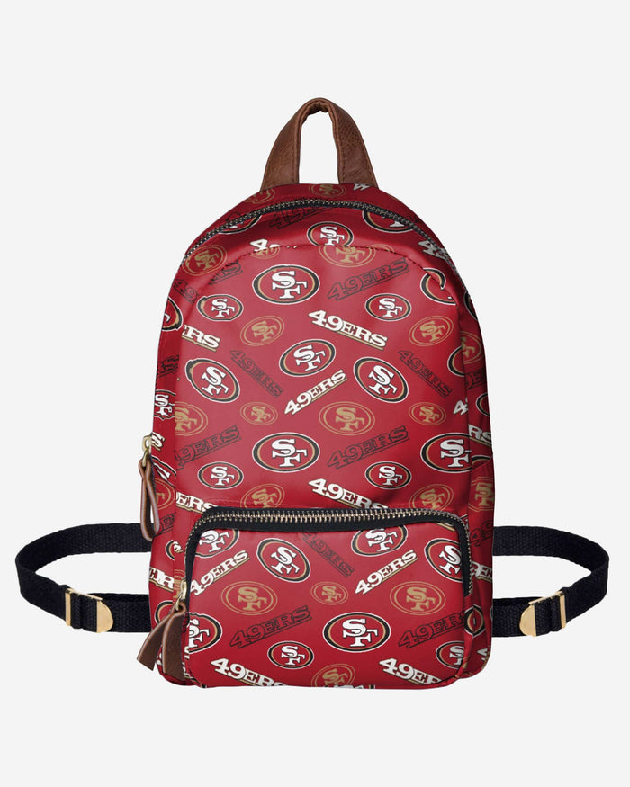 San Francisco 49ers Printed Collection Mini Backpack FOCO - FOCO.com