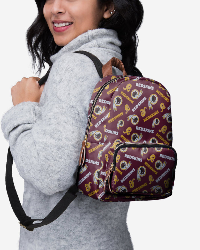 Washington Redskins Printed Collection Mini Backpack FOCO - FOCO.com