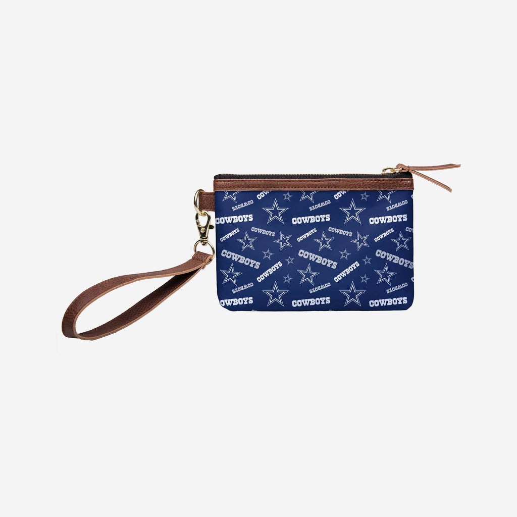 Dallas Cowboys Repeat Logo Wristlet FOCO - FOCO.com