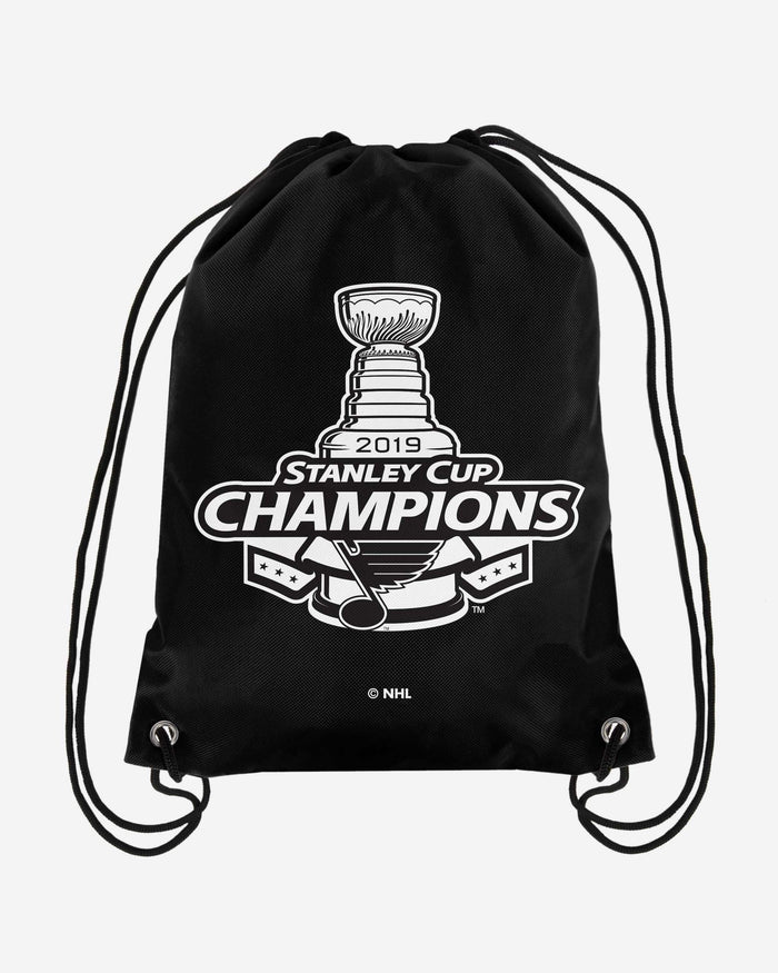 St Louis Blues 2019 Stanley Cup Champions Drawstring Backpack FOCO - FOCO.com