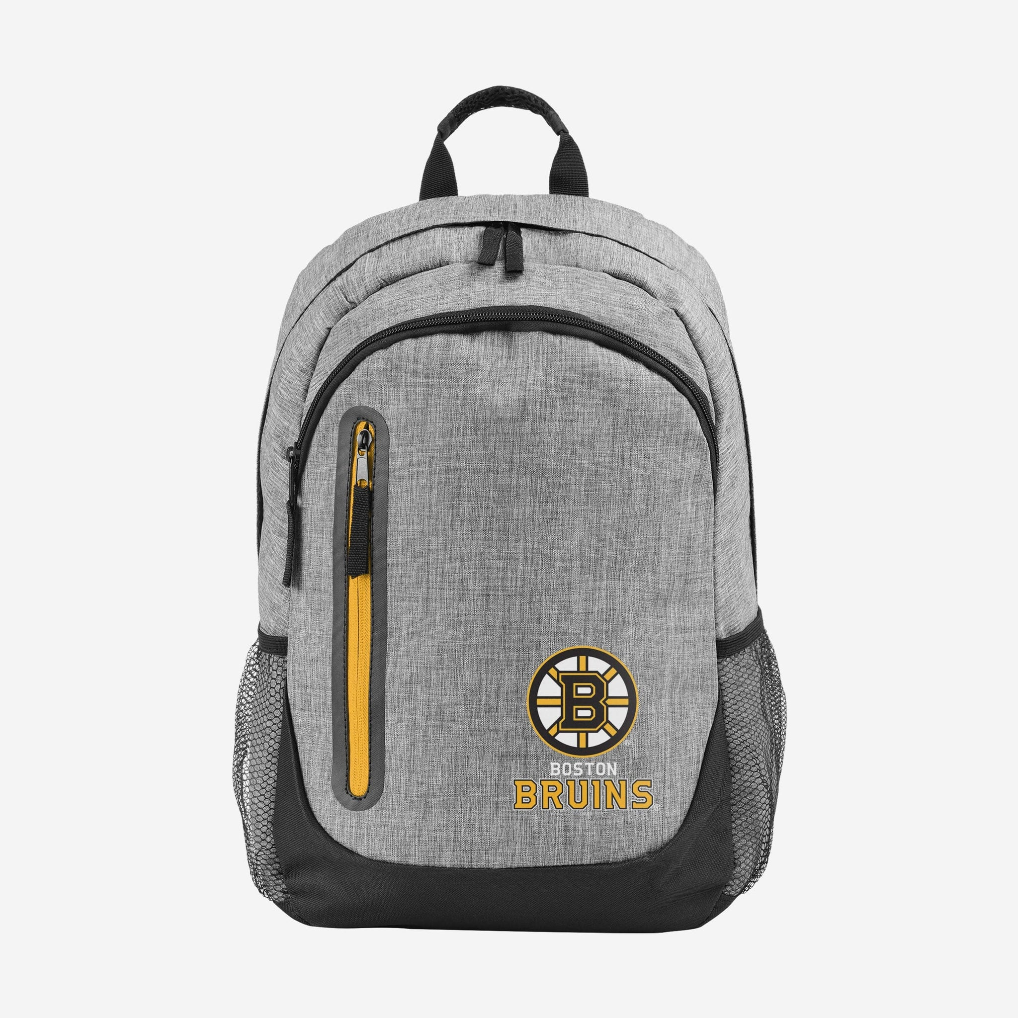 Boston Bruins Heather Grey Bold Color Backpack