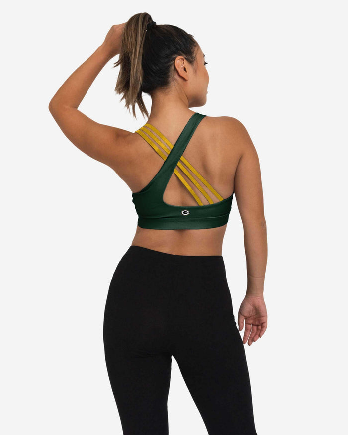 Green Bay Packers Womens Free Fan Sports Bra FOCO - FOCO.com