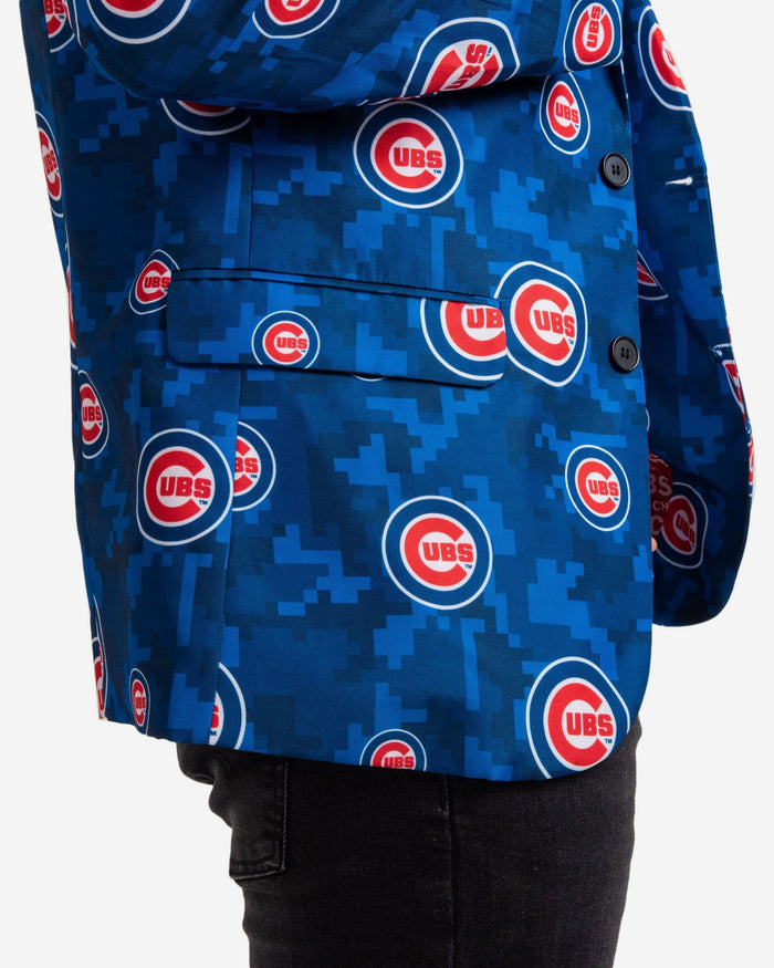Chicago Cubs Digital Camo Suit Jacket FOCO - FOCO.com