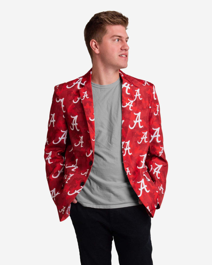 Alabama Crimson Tide Digital Camo Suit Jacket FOCO 42 - FOCO.com