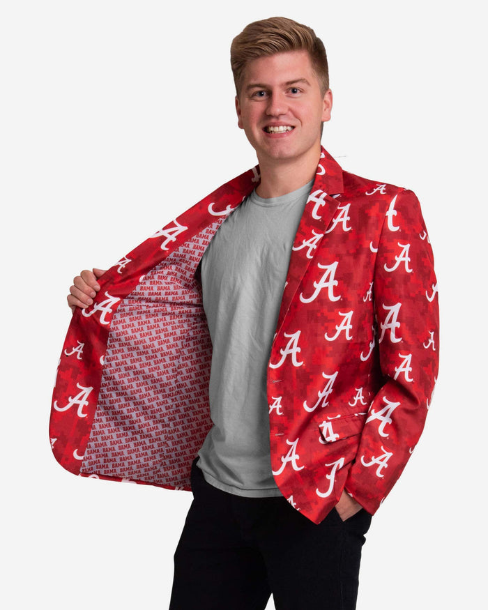 Alabama Crimson Tide Digital Camo Suit Jacket FOCO - FOCO.com