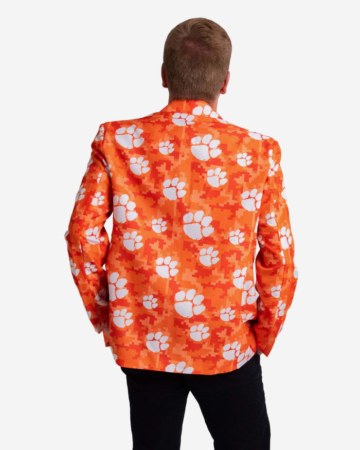 Clemson Tigers Digital Camo Suit Jacket FOCO - FOCO.com