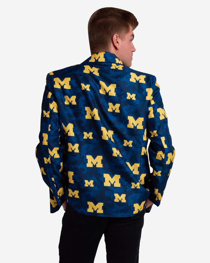 Michigan Wolverines Digital Camo Suit Jacket FOCO - FOCO.com