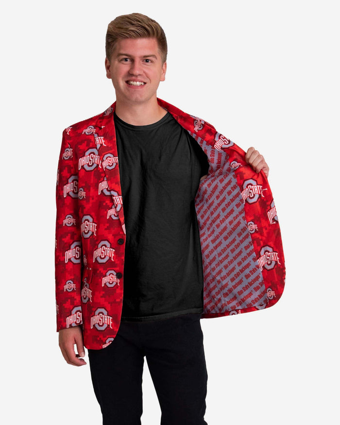 Ohio State Buckeyes Digital Camo Suit Jacket FOCO - FOCO.com