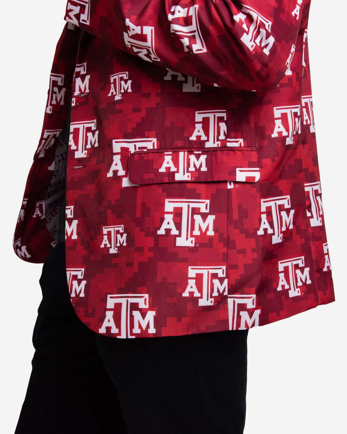Texas A&M Aggies Digital Camo Suit Jacket FOCO - FOCO.com
