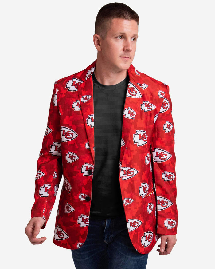 Kansas City Chiefs Digital Camo Suit Jacket FOCO 42 - FOCO.com