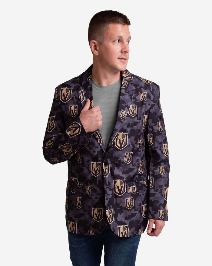 Vegas Golden Knights Digital Camo Suit Jacket FOCO 42 - FOCO.com