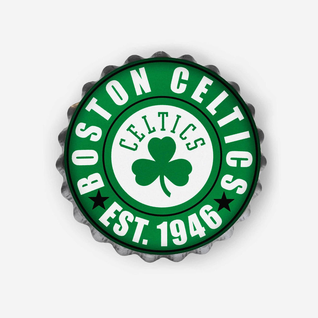 Boston Celtics Bottle Cap Wall Sign FOCO - FOCO.com