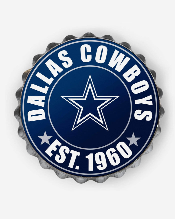 Dallas Cowboys Bottle Cap Wall Sign FOCO - FOCO.com