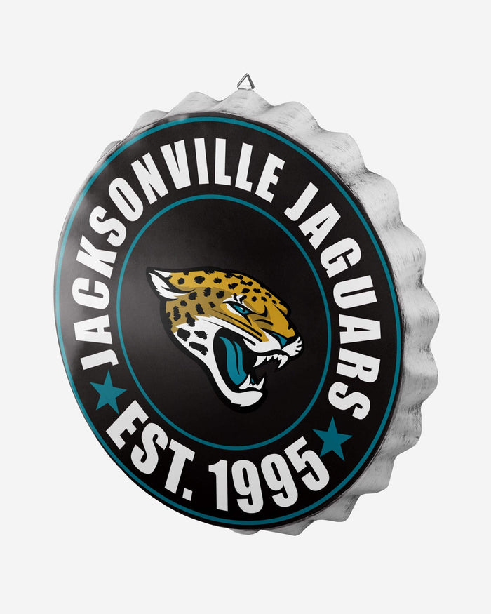 Jacksonville Jaguars Bottle Cap Wall Sign FOCO - FOCO.com