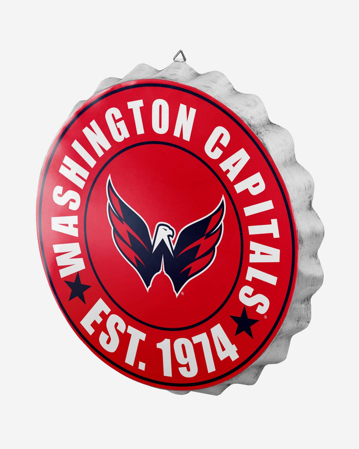 Washington Capitals Bottle Cap Wall Sign FOCO - FOCO.com
