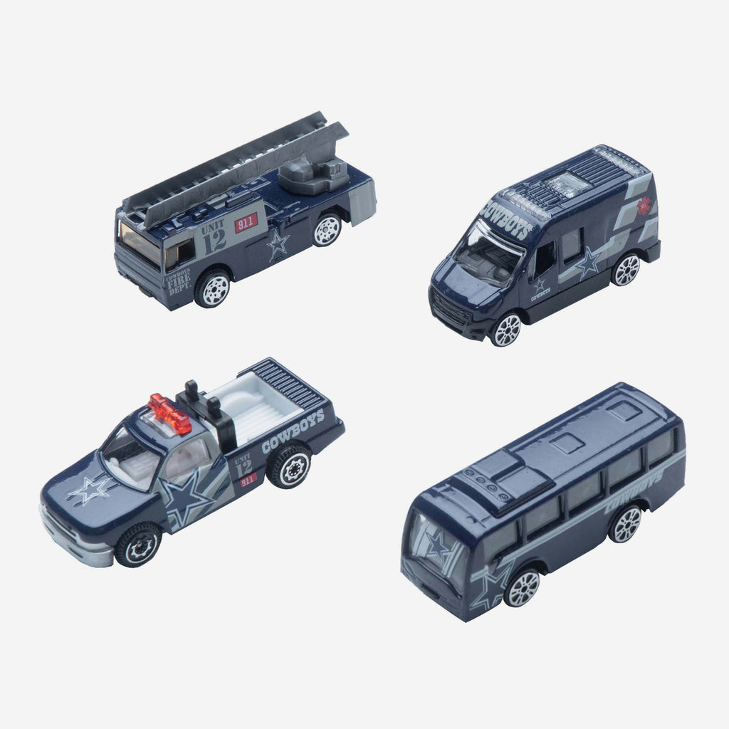 Dallas Cowboys Die Cast Cars 4 Pack