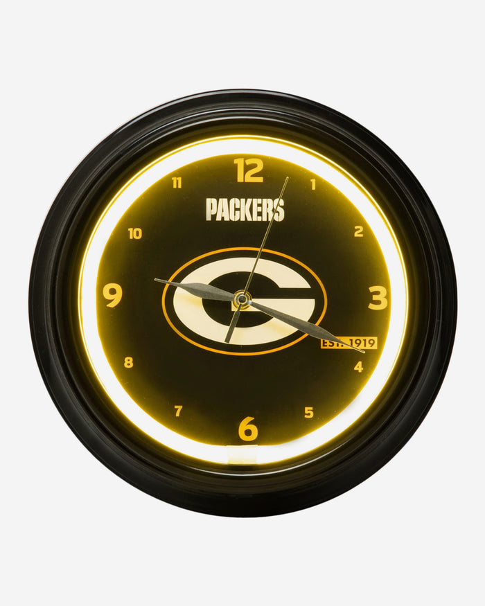 Green Bay Packers LED Gametime Clock FOCO - FOCO.com