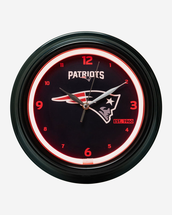 New England Patriots LED Gametime Clock FOCO - FOCO.com