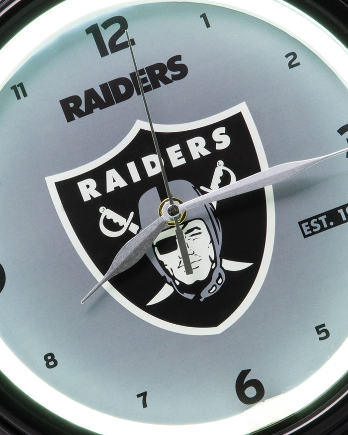Las Vegas Raiders LED Gametime Clock FOCO - FOCO.com