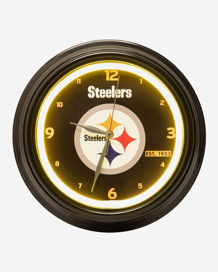 Pittsburgh Steelers LED Gametime Clock FOCO - FOCO.com