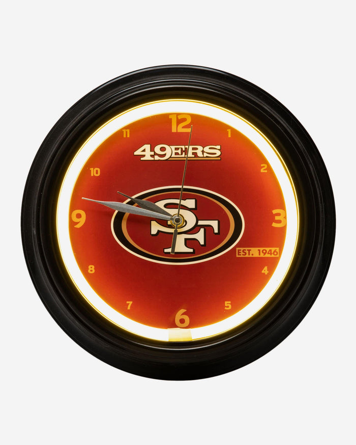 San Francisco 49ers LED Gametime Clock FOCO - FOCO.com