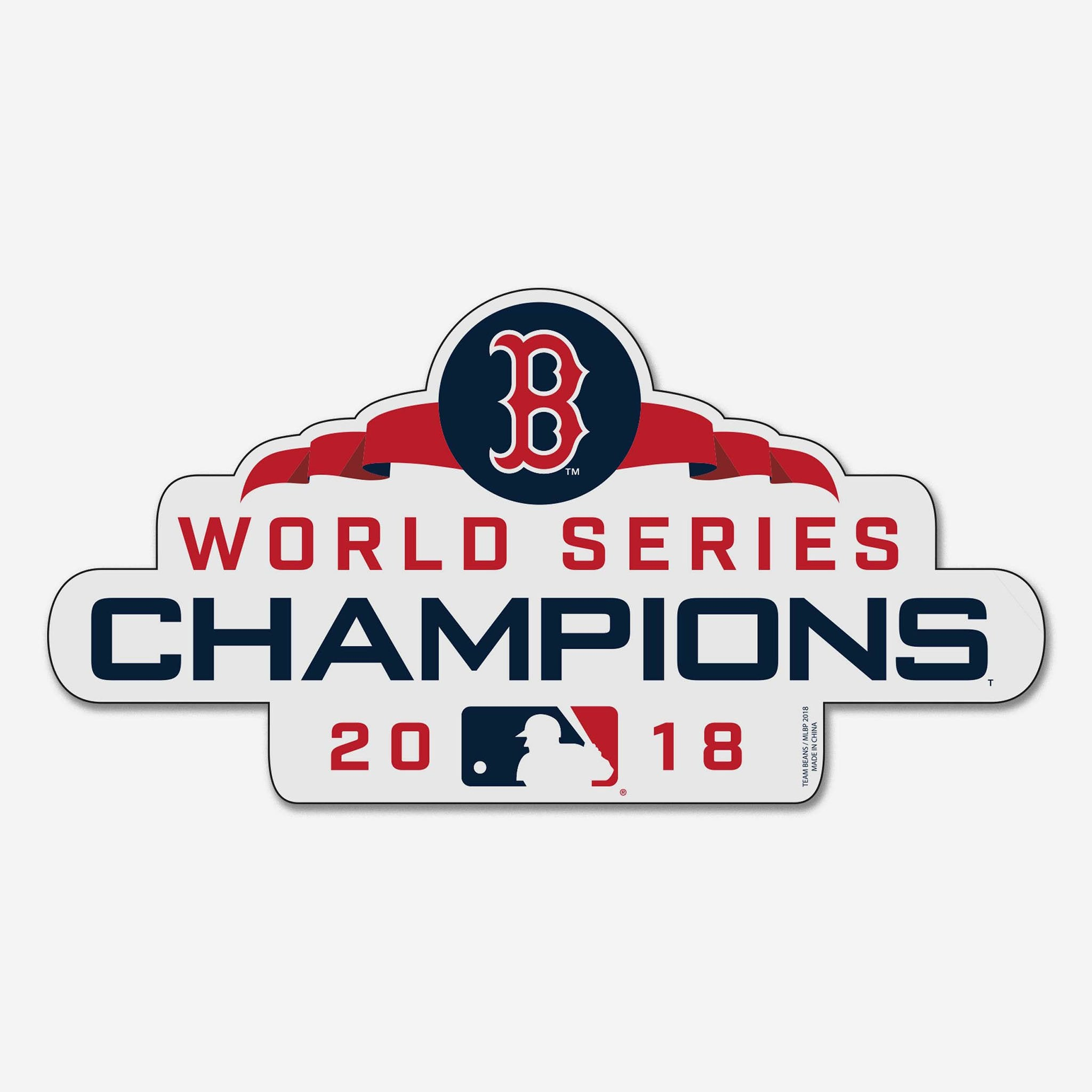 Boston Red Sox 2018 World Series Champions Magnet