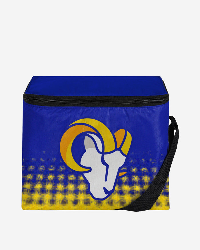 Los Angeles Rams Big Logo Gradient 6 Pack Cooler FOCO - FOCO.com
