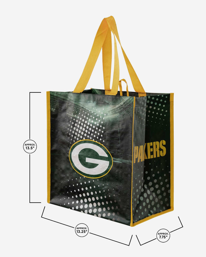 Green Bay Packers 4 Pack Reusable Shopping Bags FOCO - FOCO.com