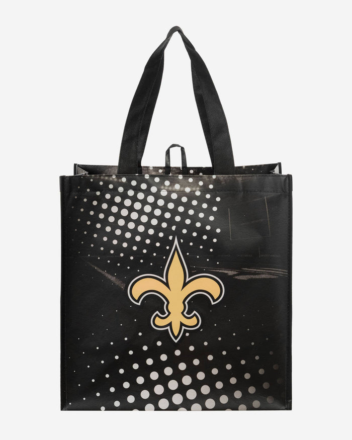 New Orleans Saints 4 Pack Reusable Shopping Bags FOCO - FOCO.com