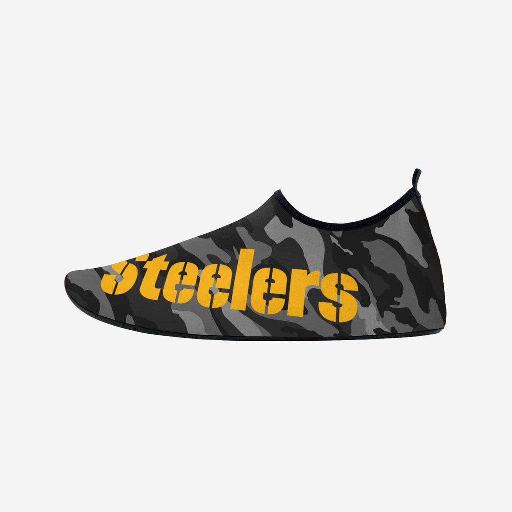 Pittsburgh Steelers Mens Camo Water Shoe FOCO S - FOCO.com