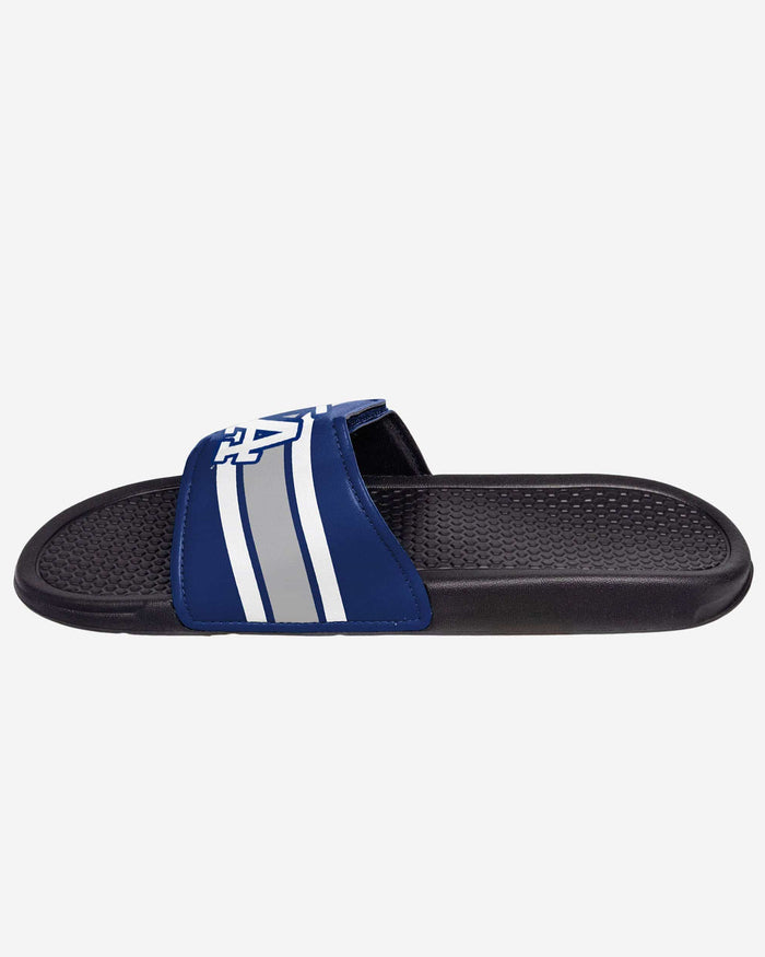 Los Angeles Dodgers Stripe Legacy Sport Slide FOCO - FOCO.com