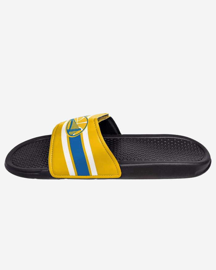 Golden State Warriors Stripe Legacy Sport Slide FOCO - FOCO.com