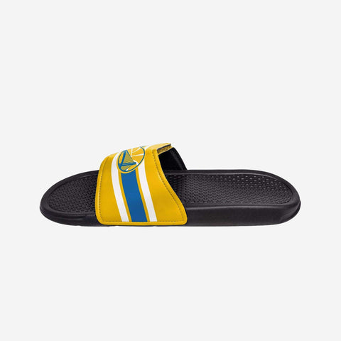 Golden State Warriors Stripe Legacy Sport Slide