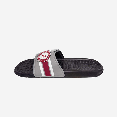 Alabama Crimson Tide Stripe Legacy Sport Slide